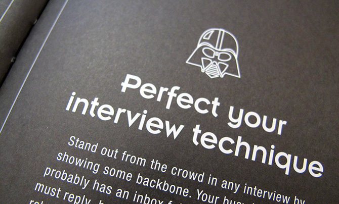 Be More Vader Star Wars Perfect Your Interview Technique