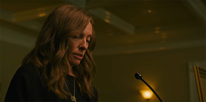 Hereditary Review Annie Talking
