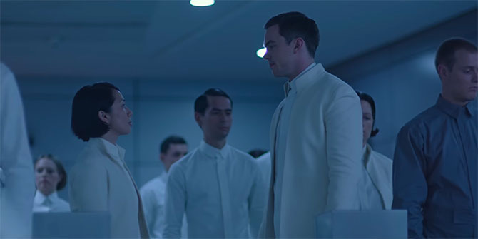 Equals Review Silas Talking