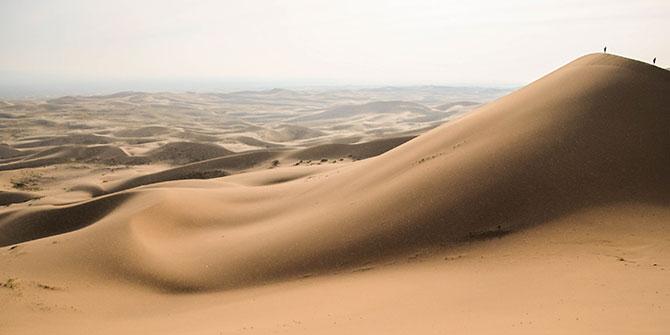 Most Mars-Like Places on Earth Gobi Desert