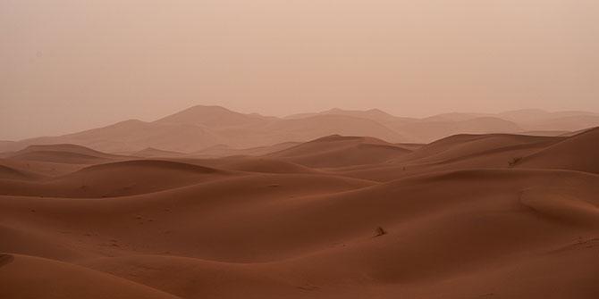 Most Mars-Like Places on Earth Sahara