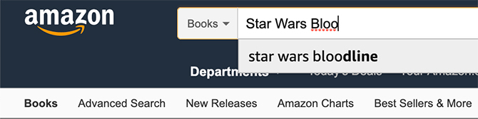 How to Search Amazon for Books on the Web Use Search Bar