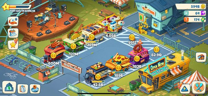 Idle Food Truck Tycoon Review Mobile Game Food Trucks