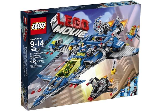 The LEGO Movie Spaceship