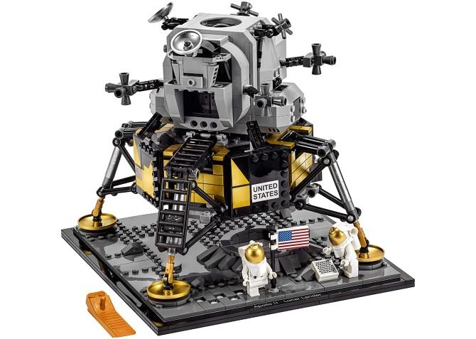 Build the Apollo 11 mission lander in LEGO