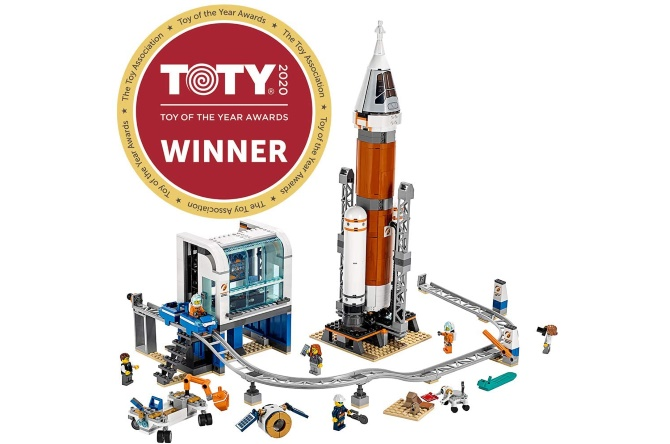 Deep space LEGO City rocket
