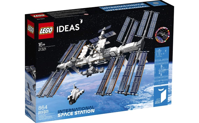 The International Space Station in LEGO