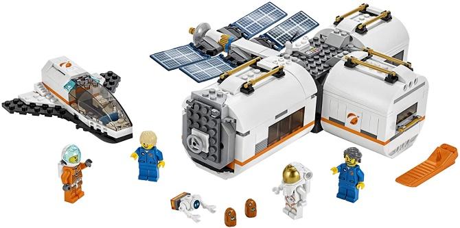 LEGO Lunar Space Station