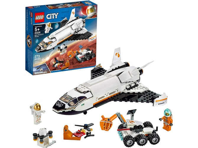 LEGO Mars space mission