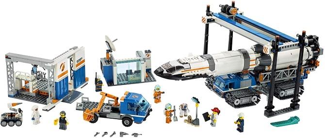 Launch LEGO City's rocket