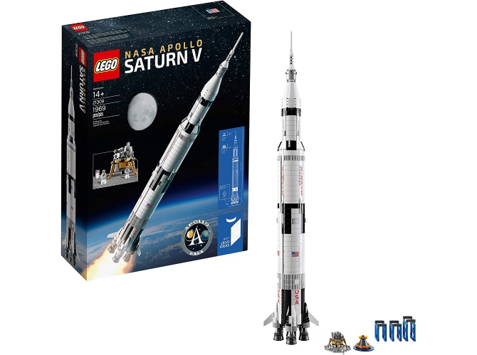 Build the legendary Saturn V rocket